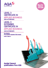 Applied General Business specification cover