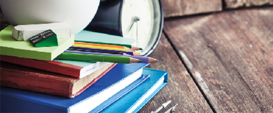 Stationery on a desk Resources and support for the new school year