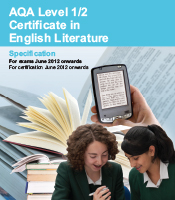 aqa coursework mark scheme english literature Assessed in your coursework (5% of the final as mark as english language and literature for aqa b activity 1.