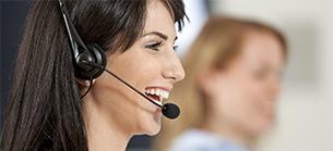 Call centre colleague