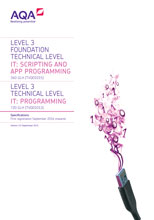TVQ IT Programming Specification cover