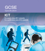 How is GCSE ICT coursework marked?