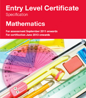 Entry Level Certificate in Mathematics
