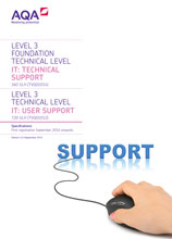 TVQ IT User support specification cover