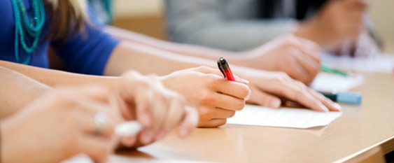 desk hands pen Mock exams: resources and support