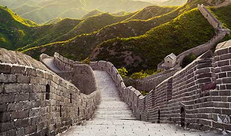 view of Great Wall of China
