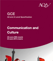 aqa communication and culture coursework examples