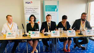 AQA leads education policy discussions at the party conferences