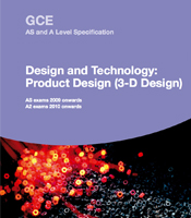 Design and Technology: Product Design (3D)