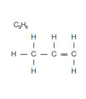 Unsaturated hydrocarbon molecules