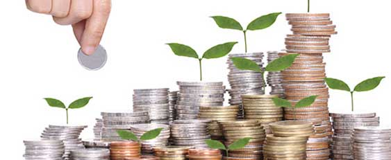 Piles of money growing green shoots See our accredited GCSE specification