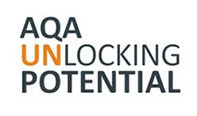 AQA Unlocking Potential students enter the Dragons' den
