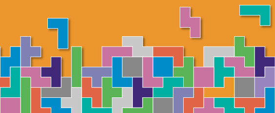 Tetris shapes Post-16 GCSE English Language resit resources