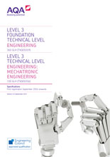 TVE Engineering Mechatronic specification cover