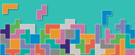 Tetris shapes Post-16 GCSE Maths resit resources