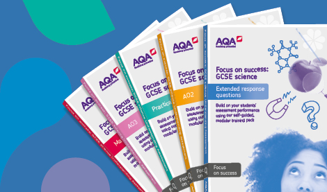 A display of multiple covers for Science self-guided training packs
