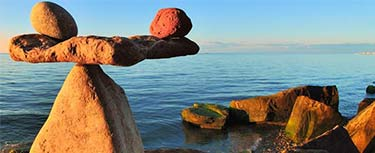 Balanced rocks by the sea Teaching our new GCSE Religious Studies? Tell us