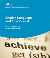 english language and literature coursework a level