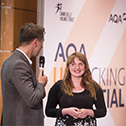 Students' achievements recognised at AQA Unlocking Potential celebration
